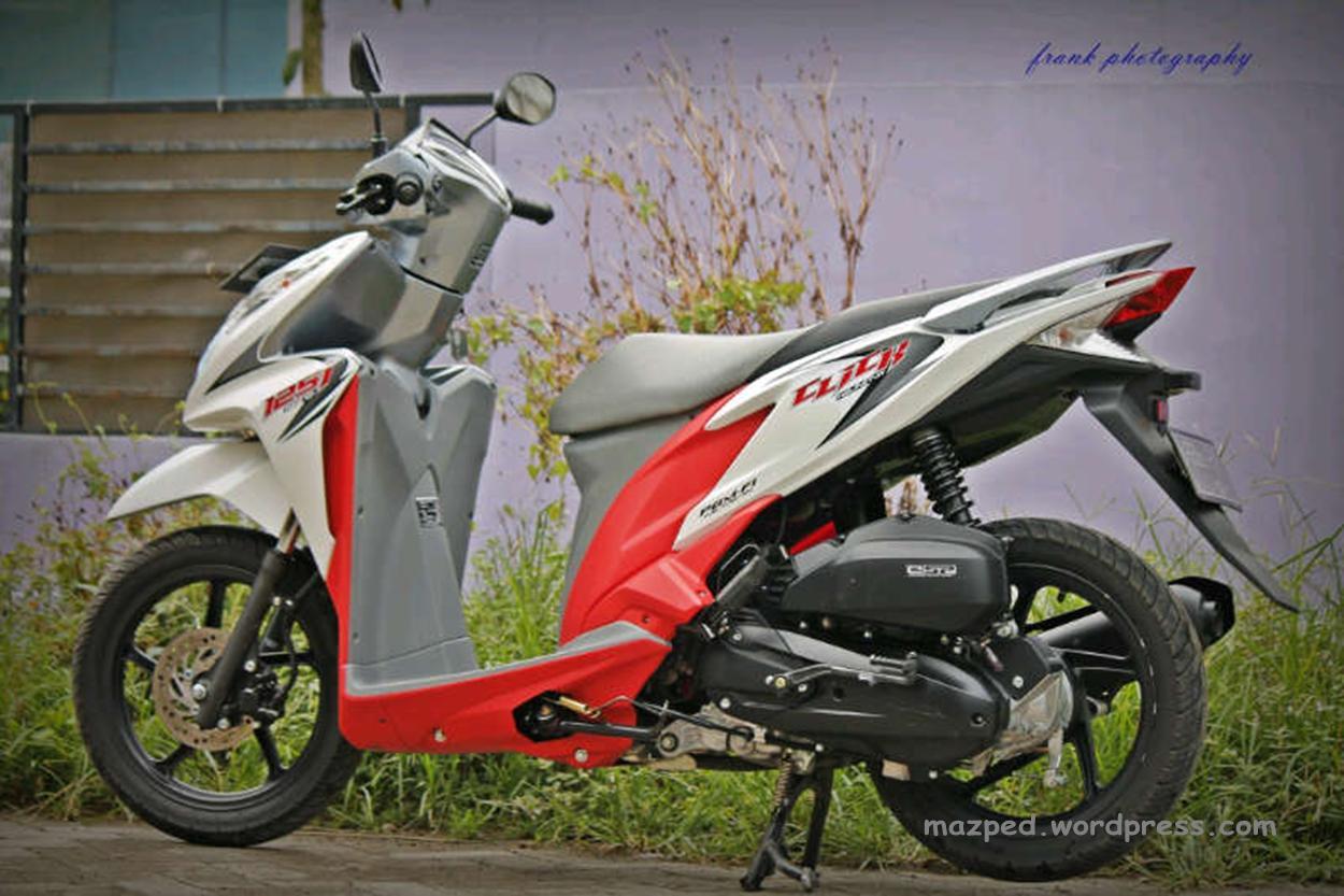 Modif Vario 125 Warna Putih Modifikasi Motor Terbaru
