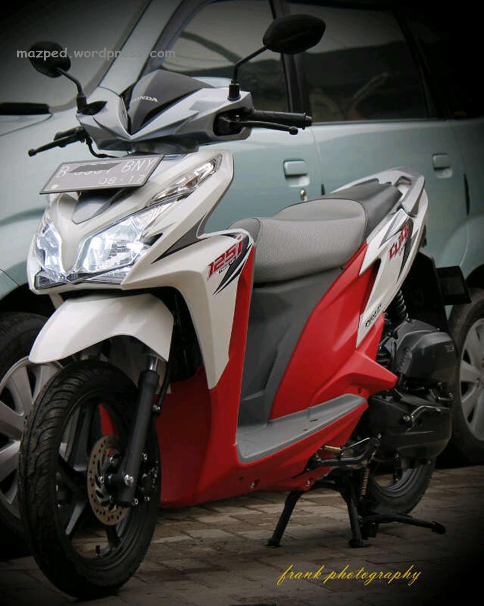 Modif Vario 125 Putih Merah Galeri Motor Vario