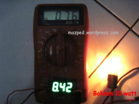 bohlam 10 watt