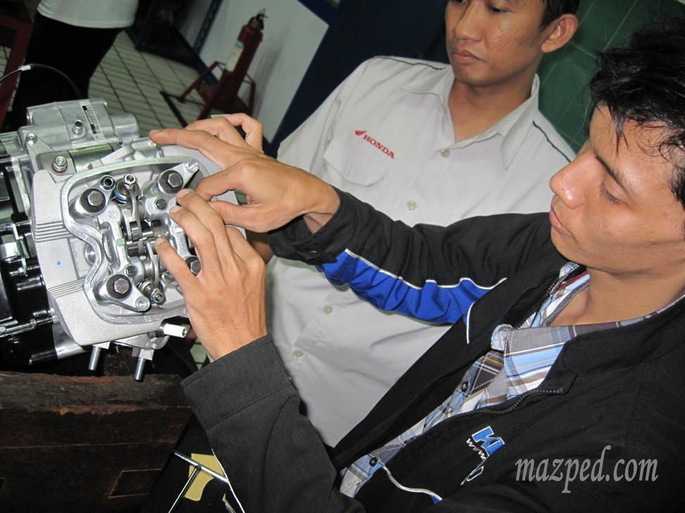 bedah engine verza 1