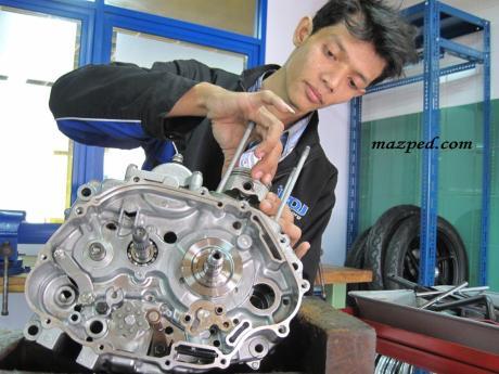 bedah engine verza 4