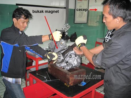 bedah engine verza