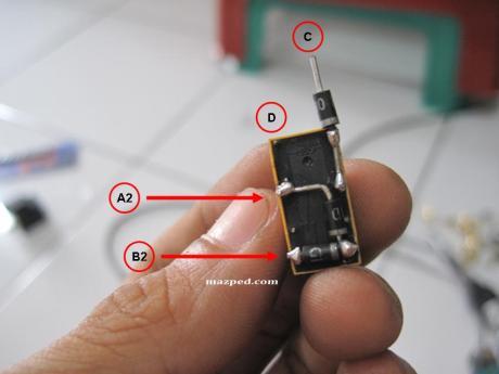 relay + dioda