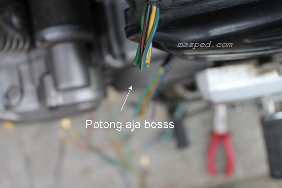 potong kabel