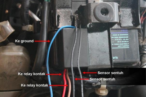 Milenium Motor Limboto  Pasang Pengaman Motor Di Vario 125