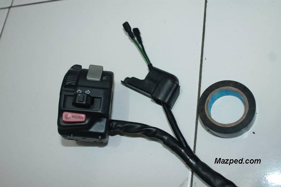 isolasi selongsong kabel pengaman kopling