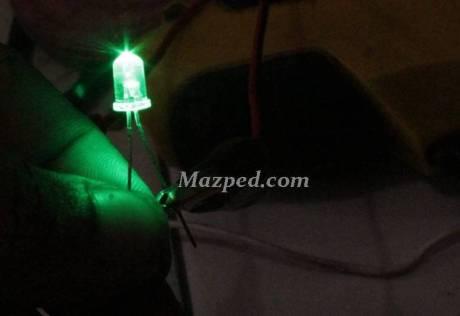 LED hijau