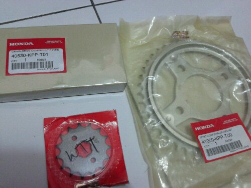 Gear Set All New CBR150 Cuma Rp 475000