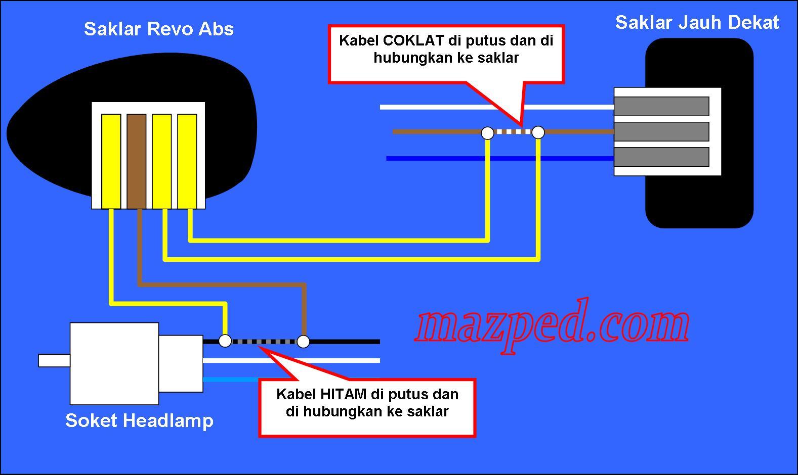 Diy pasang saklar lampu utama di vario 125 mazped wiring diagram 2 asfbconference2016 Images