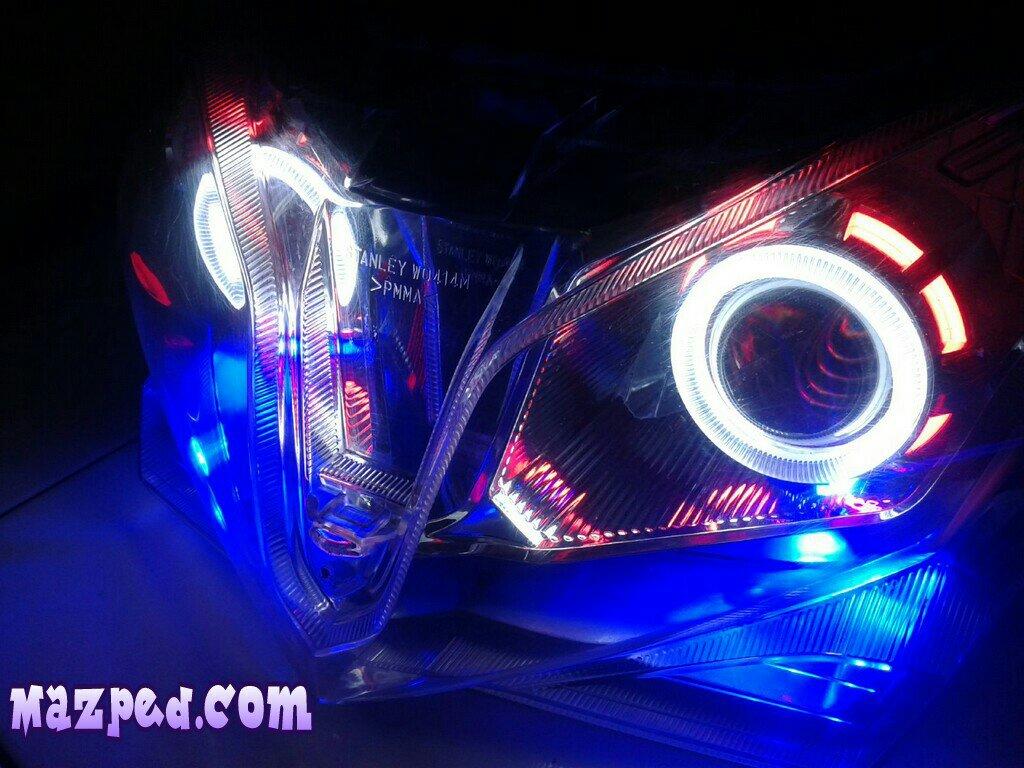 Wiring Diagram Kelistrikan Honda Vario : Modifikasi kelistrikan vario 125 lampak modifikasi
