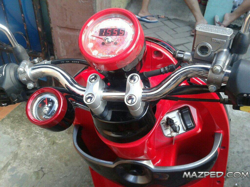 82 Modifikasi Stang Scoopy Kumpulan Modifikasi Motor Scoopy Terbaru