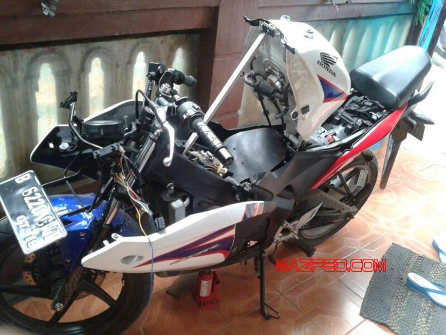 Pasang Spido Koso Rx2 Di Cbr150 Fi   Part 1  U2013 Kalibrasi