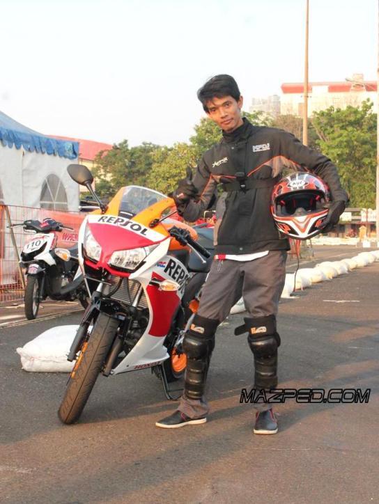Test Ride CBR150R