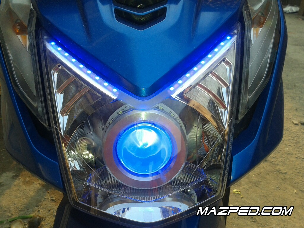 Modifikasi Lampu Motor Honda Beat Kumpulan Modifikasi Motor Scoopy